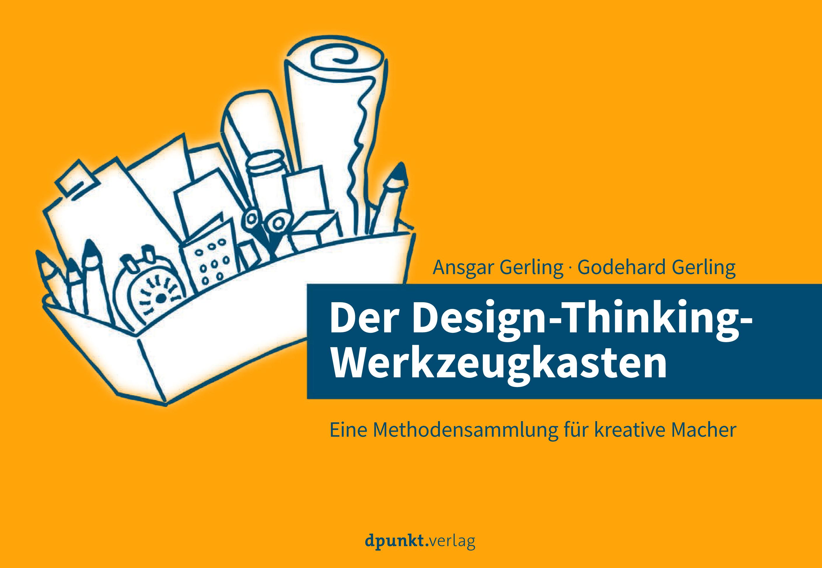 Design Thinking Werkzeugkasten gestaltet Cornelia Hohenegg