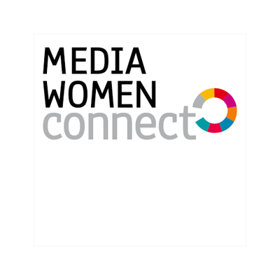 Gestaltung des Logos Media Women Connect